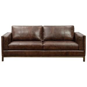 Contemporary Leather Sofa