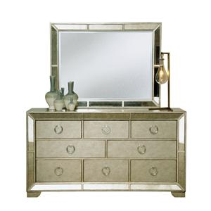 Pulaski Furniture Farrah Dresser & Mirror Set