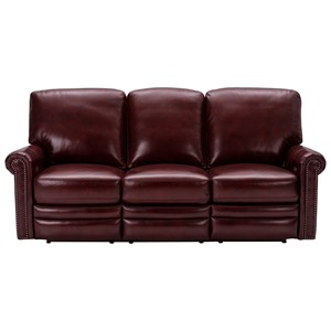 Grant Motion Uph Traditional Power Reclining Sofa with Built-In USB by Pulaski Furniture