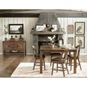 Pulaski Furniture Heartland Falls Casual Dining Room Group - Item Number: P002 Dining Room Group 3