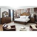 Pulaski Furniture Heartland Falls King Bedroom Group  - Item Number: P002 K Bedroom Group 1
