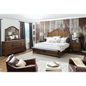 Pulaski Furniture Heartland Falls California King Bedroom Group  - Item Number: P002 CK Bedroom Group 1