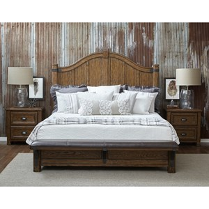 Eric Church's Highway to Home by Pulaski Eric Church Heartland Falls Queen Bedroom Group