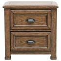 Pulaski Furniture Heartland Falls Nightstand - Item Number: P002140