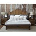 Pulaski Furniture Heartland Falls 2 Drawer Nightstand with Custom Cup Hardware