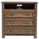 Pulaski Furniture Heartland Falls Media Chest - Item Number: P002145