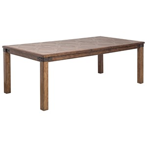 Pulaski Furniture Heartland Falls Leg Table