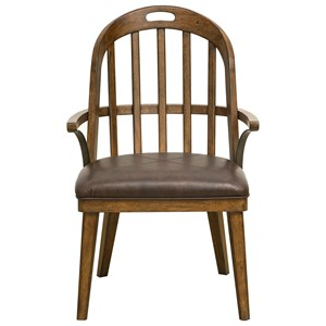 Pulaski Furniture Heartland Falls Windsor Arm Chair