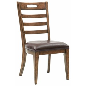 Pulaski Furniture Heartland Falls Ladder Back Side Chair