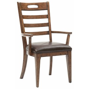 Pulaski Furniture Heartland Falls Ladder Back Arm Chair