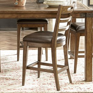 Pulaski Furniture Heartland Falls Ladder Back Gathering Chair