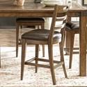 Pulaski Furniture Heartland Falls Ladder Back Gathering Chair - Item Number: P002503