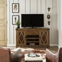 Pulaski Furniture Heartland Falls Media Console with Two Doors