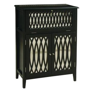 Pulaski Furniture Accents Bardot Lift Lid Wine Chest