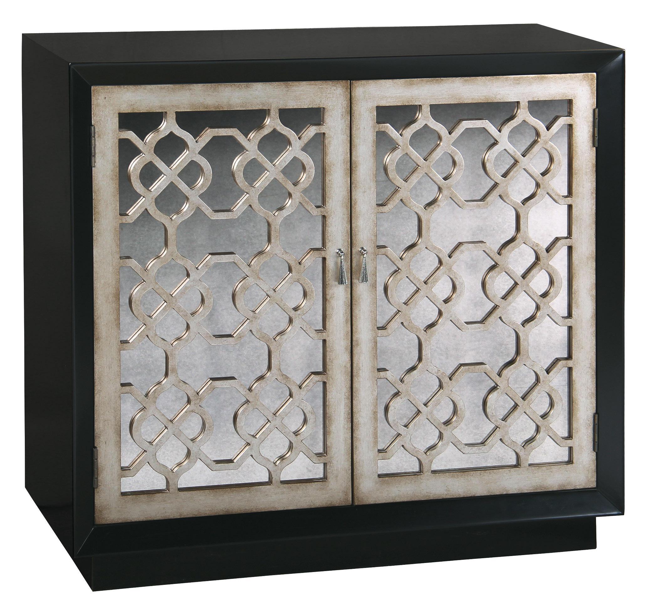 Pulaski Furniture Accents Lyla Mirrored Front Accent Chest   AHFA    Occasional Cabinet Dealer Locator