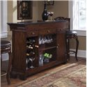 Pulaski Furniture Accents Toscano Vialetto Bar Set with Stools - 657500+501