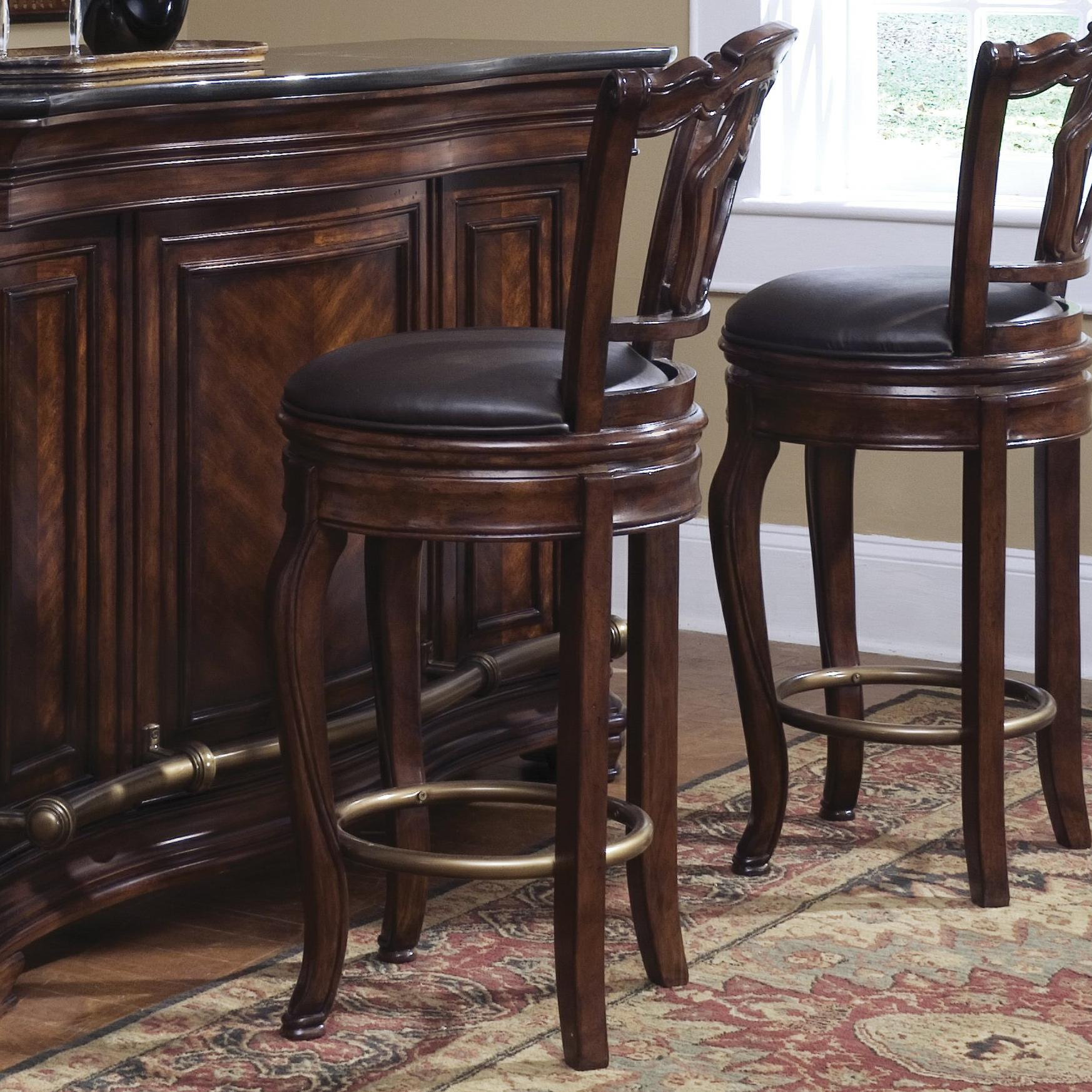 Accents Toscano Vialetto Bar Stool By Pulaski Furniture