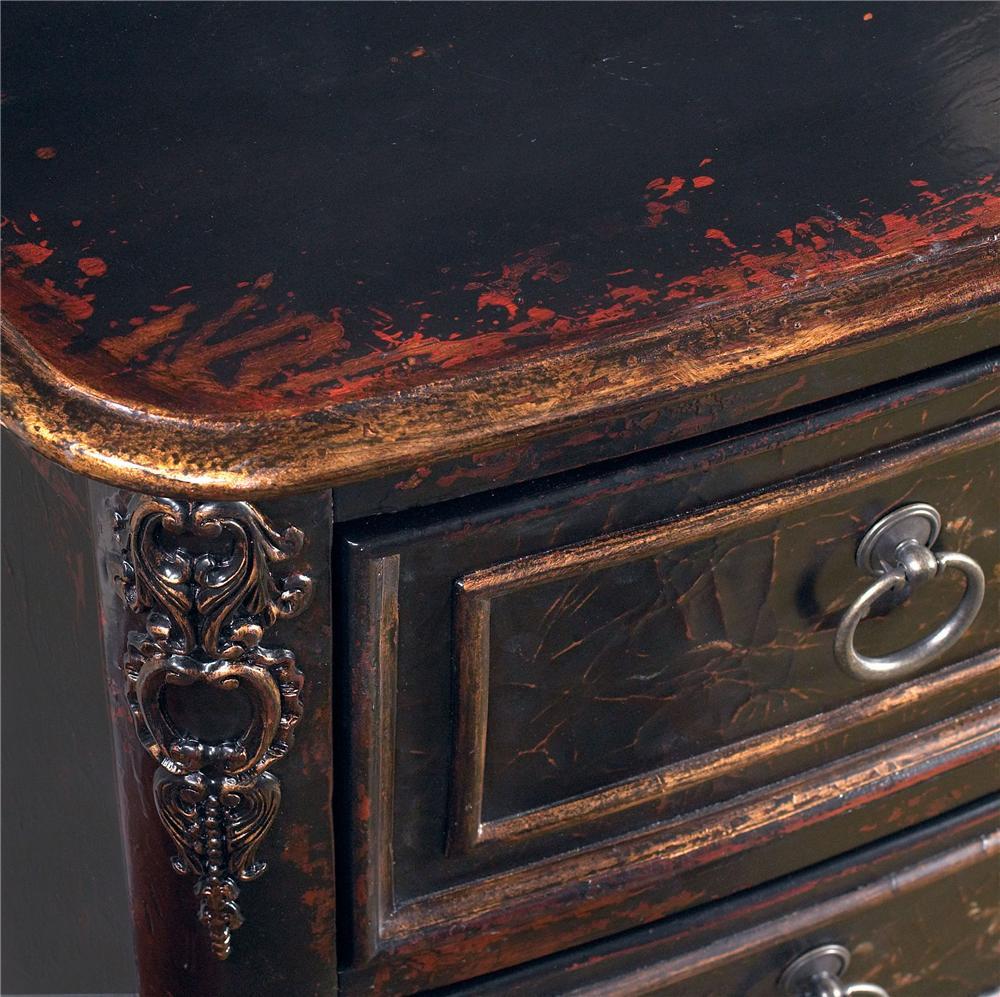 Pulaski Furniture Accents Versailles Black Drawer Chest Olinde 39 S Furniture Accent Chests