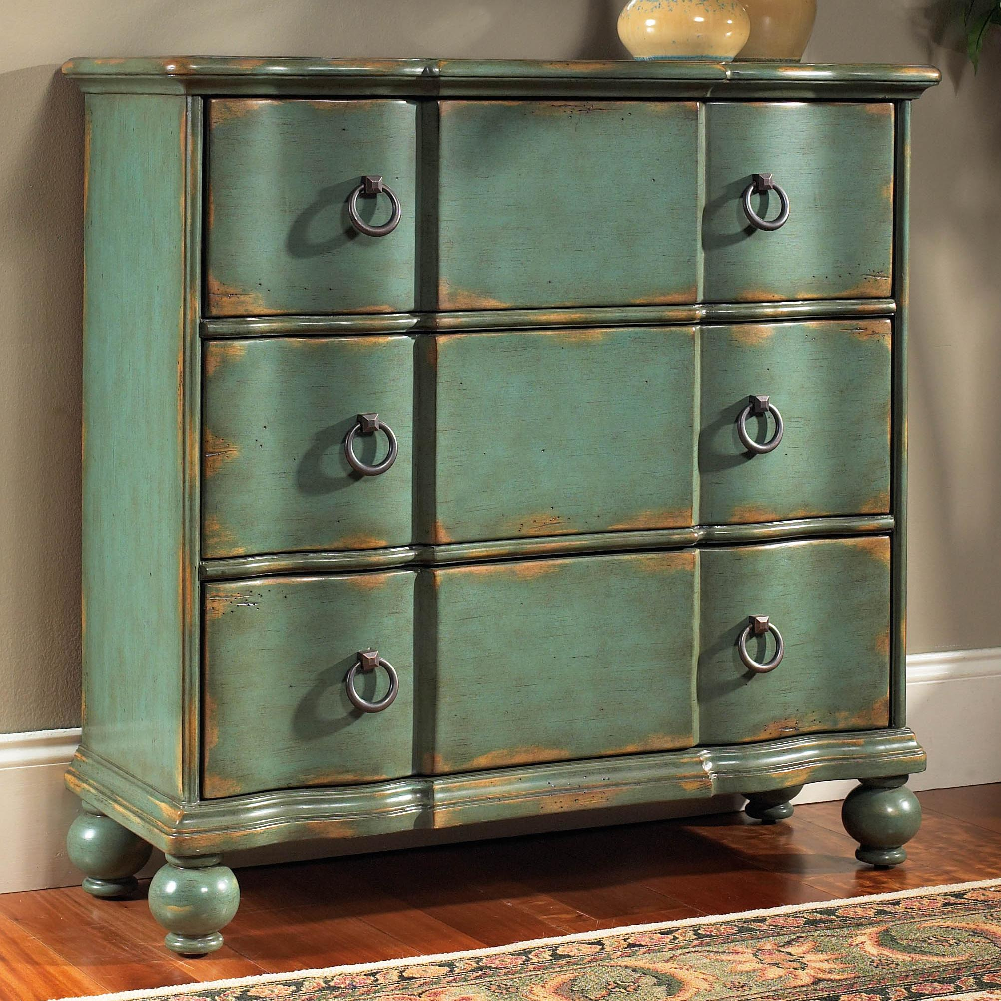 Pulaski Furniture Accents Hall Chest With Drawers   AHFA   Occasional  Cabinet Dealer Locator