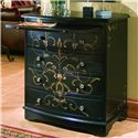 Pulaski Furniture Accents Onyx Accent Chest - DS-603140 - Shown with Pull-Out Shelf