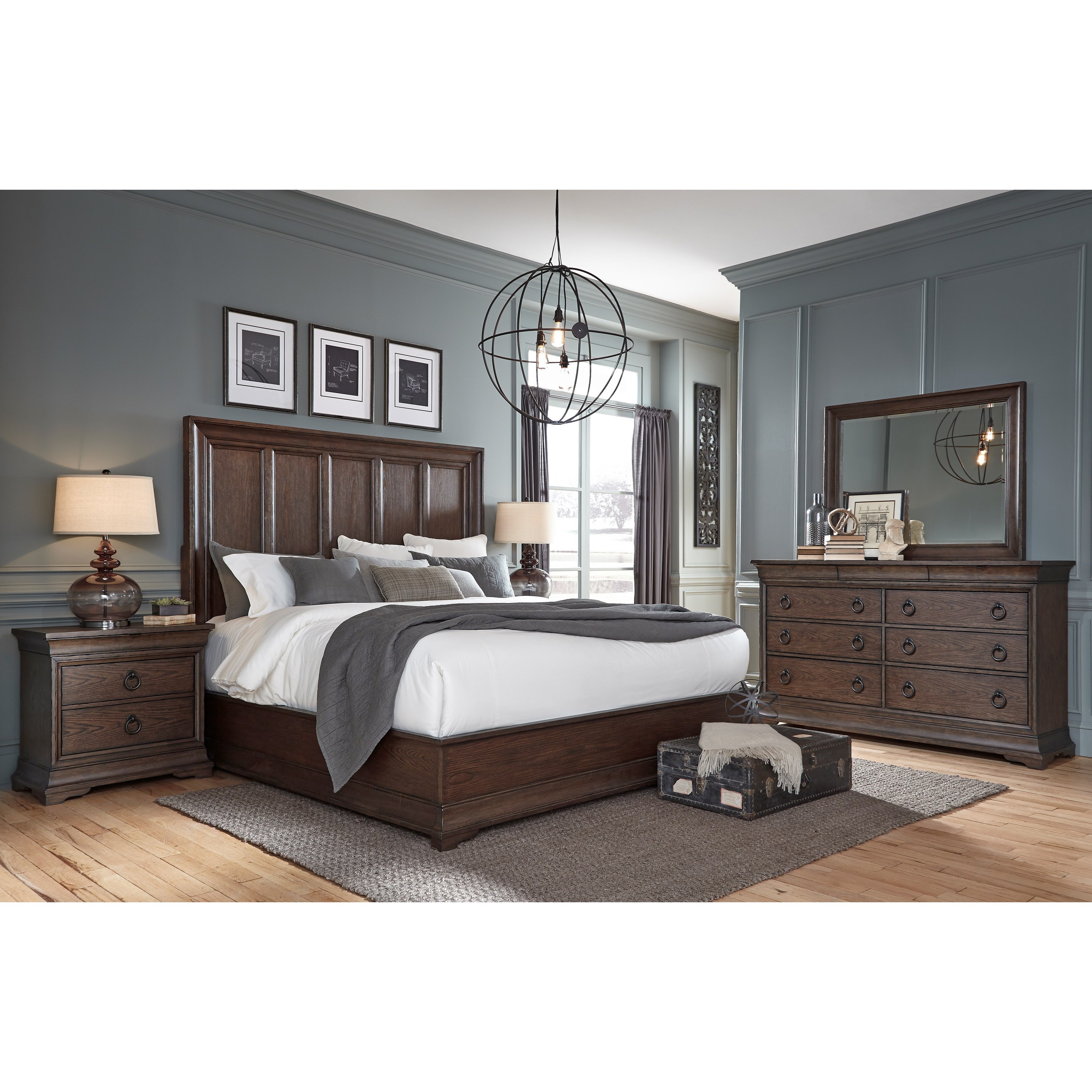 Pulaski Furniture Lindale King Bedroom Group - Item Number: P0301 K Bedroom Group 1