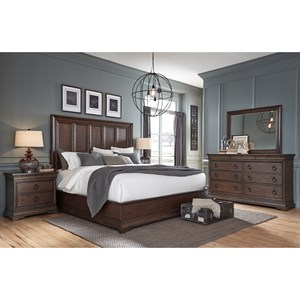 Pulaski Furniture Lindale Queen Bedroom Group