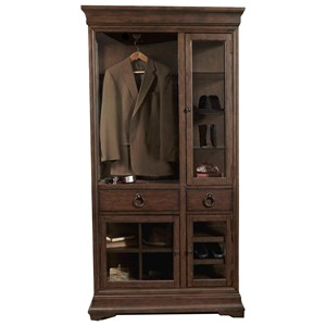 Pulaski Furniture Lindale Curio Armoire