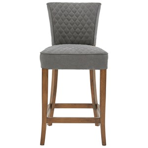 Quilted Counter Height Barstool