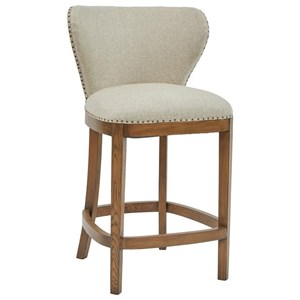 Pulaski Furniture Modern Authentics Deconstructed Counter Height Barstool