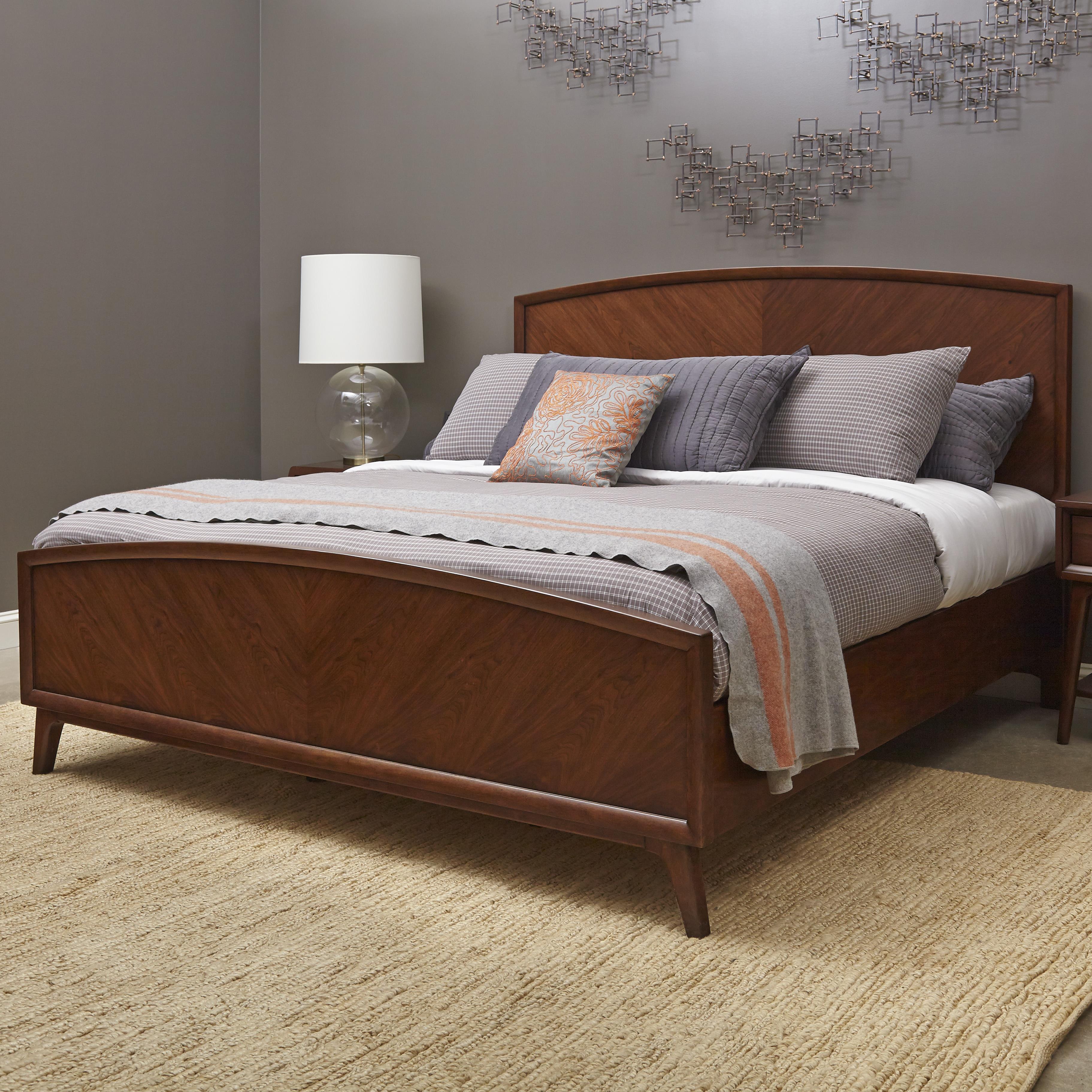 Pulaski Furniture Modern Harmony King Wood Bed - Item Number: 403160+161+152