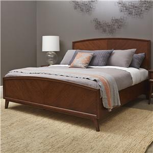 Pulaski Furniture Modern Harmony Queen Wood Bed