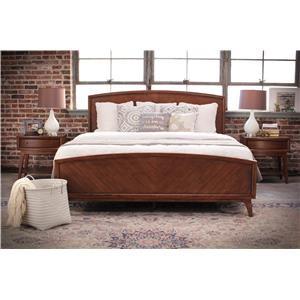 Pulaski Furniture Modern Harmony Queen Wood Bed