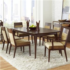 Pulaski Furniture Modern Harmony 7 Pc Dining Table Set