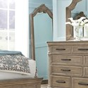 Pulaski Furniture Monterey Traditional Floor Mirror