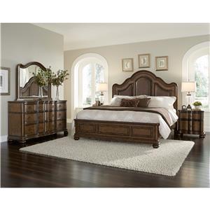 Pulaski Furniture Quentin Queen 4-Piece Bedroom Group