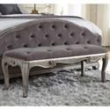 Pulaski Furniture Rhianna Rhianna Bed Bench