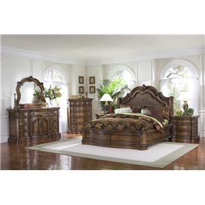 Pulaski Furniture San Mateo Queen 6-Piece Bedroom Group