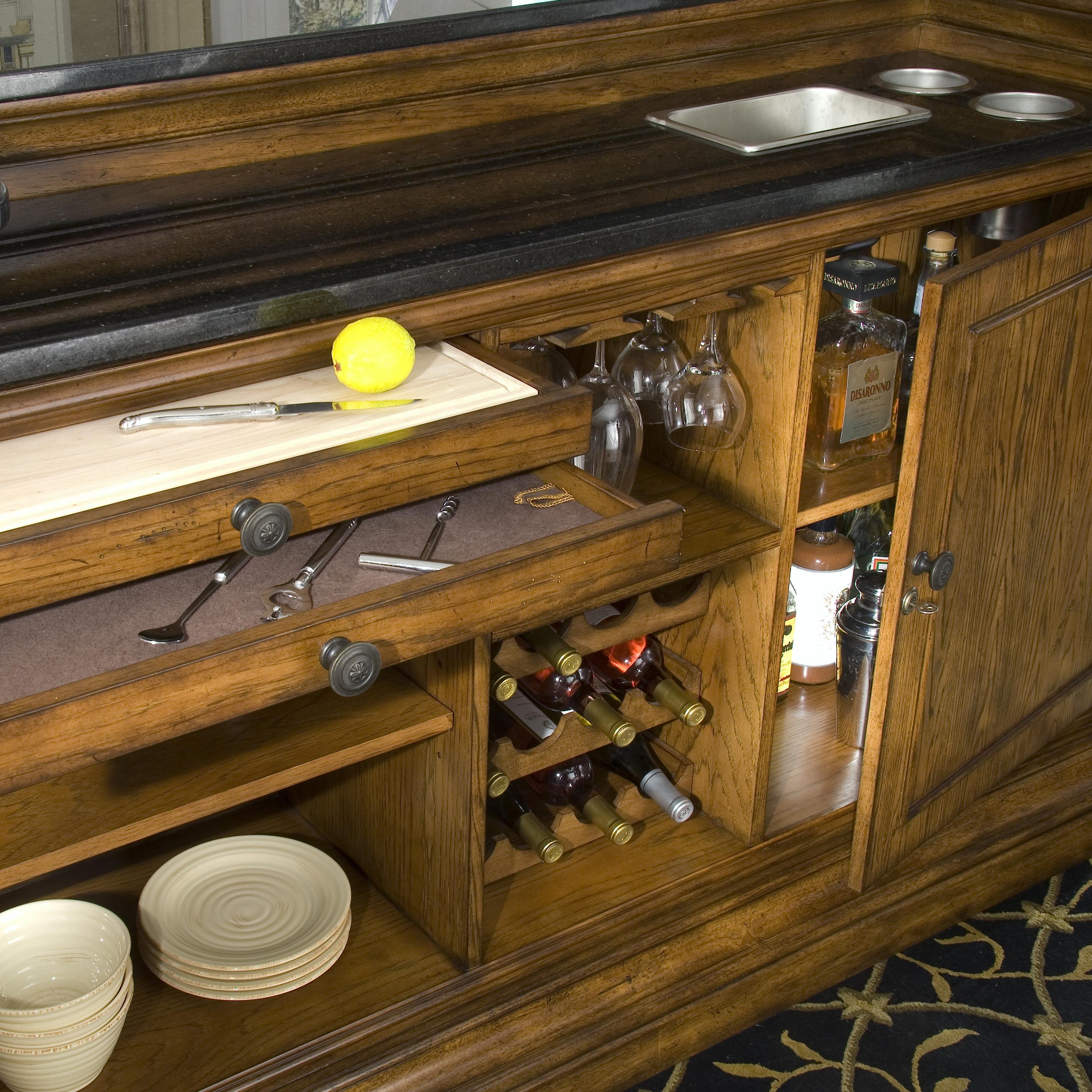 Entertainment Bar Furniture: Pulaski Furniture San Mateo Entertainment Storage Bar