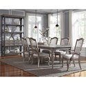 Pulaski Furniture Simply Charming Dining Room Group - Item Number: P043000 Dining Group 1