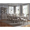 Pulaski Furniture Simply Charming Dining Room Group - Item Number: P043000 Dining Group 2