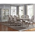 Pulaski Furniture Simply Charming Dining Room Group - Item Number: P043000 Dining Group 4