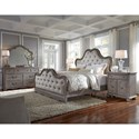 Pulaski Furniture Simply Charming Queen Bedroom Group - Item Number: P043000 Q Bedroom Group 1