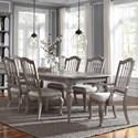 Pulaski Furniture Simply Charming 7-Piece Dining Set - Item Number: P043240+261+2x260