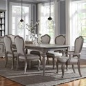 Pulaski Furniture Simply Charming 7-Piece Dining Set - Item Number: P043240+271+2x270