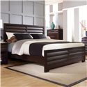 Pulaski Furniture Tangerine  King Panel Bed - 330180+181+2x172 - Bed Shown May Not Represent Size Indicated