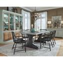 Pulaski Furniture The Art of Dining Formal Dining Room Group - Item Number: P119 Dining Room Group 10