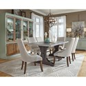 Pulaski Furniture The Art of Dining Formal Dining Room Group - Item Number: P119 Dining Room Group 12