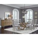 Pulaski Furniture The Art of Dining Formal Dining Room Group - Item Number: P119 Dining Room Group 19
