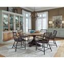 Pulaski Furniture The Art of Dining Formal Dining Room Group - Item Number: P119 Dining Room Group 2