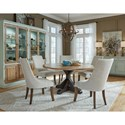 Pulaski Furniture The Art of Dining Casual Dining Room Group - Item Number: P119 Dining Room Group 3